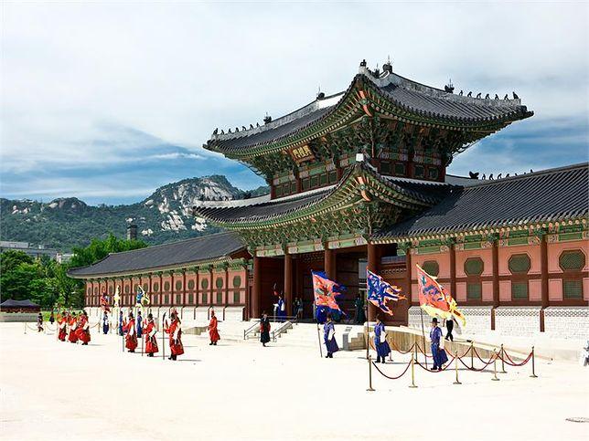 korea południowa, gyeongbokgung