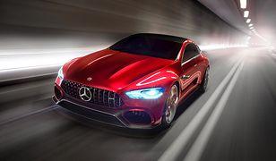 Genewa 2017: Mercedes-AMG GT Concept - czterodrzwiowy sportowiec z napędem hybrydowym