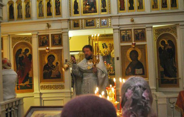 Rosyjski duchowny od sierpnia przebywał w areszcie.