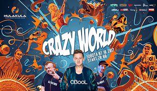 Crazy World & C-BooL, czyli dzika impreza w Hulakula – Rozrywkowym Centrum Miasta