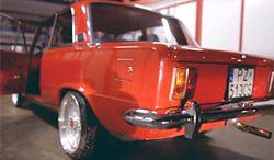 Fiat 125p z silnikiem z Golfa R32