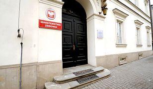 Siedziba Ministerstwa Zdrowia mieści się w późnoklasycystycznym pałacu Paca