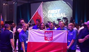 W mistrzostwach robotów zajęli drugie miejsce. To jedyna taka drużyna z Polski
