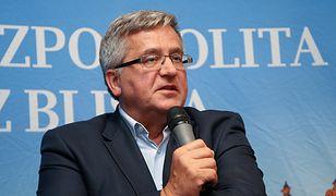 Bronisław Komorowski uważa, że to Andrzej Duda i rząd są jednakowo odpowiedzialni za złamanie konstytucji