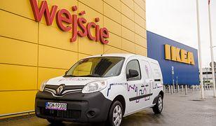 Renault kangoo dla Ikea