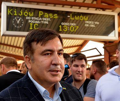 Grzywna dla Saakaszwilego. Kwota zaskakuje