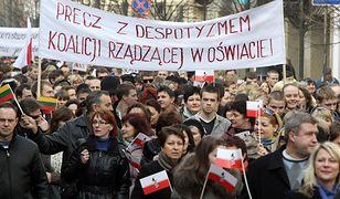 """""""Wojna hybrydowa"""" Rosji w państwach bałtyckich. Czy Putin może wykorzystać Polaków na Litwie?"""