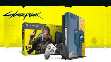Cyberpunkowy Xbox One X skrywa tajemnicę, czyli kolejne zagadki CD Projekt Red