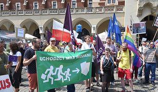 Demonstracja przeciwników reformy edukacji
