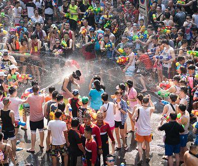Songkran, czyli daj się oblać wodą na szczęście