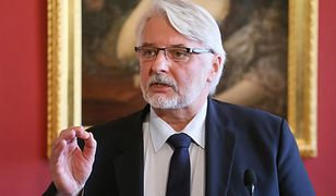 Szef MSZ Witold Waszczykowski: nie jest to polityk popularny w Polsce