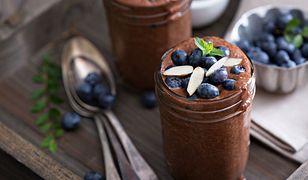 Idealny podwieczorek, czyli domowy budyń czekoladowy z nasionami chia