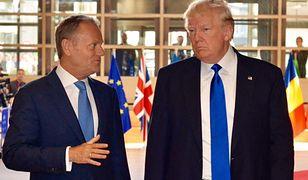 Jak Donald z Donaldem. Tusk spotkał się z prezydentem USA