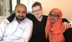 Muhammad, Rebecca i Shanaz tworzą od 6 lat wyjątkową rodzinę