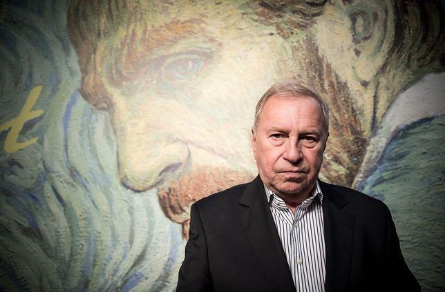 """Jerzy Stuhr na uroczystej premierze filmu """"Twój Vincent"""""""