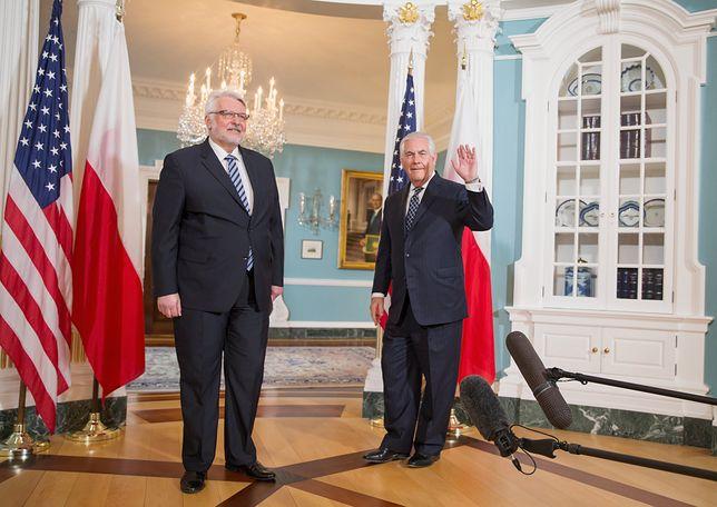Waszczykowski po spotkaniu w USA: poruszyłem temat Smoleńska