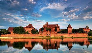 Zamek w Malborku - największa twierdza średniowiecznej Europy