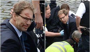 Zamach w Londynie. Wiceminister rzucił się na ratunek policjantowi
