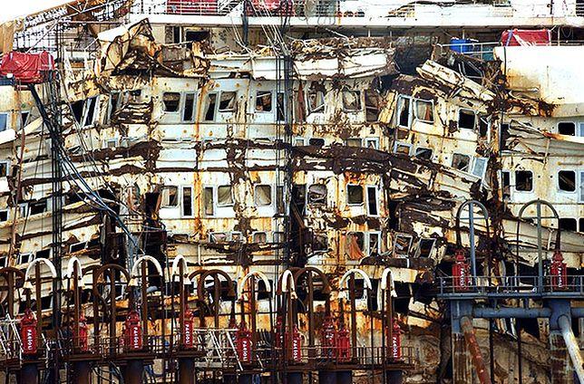 Costa Concordia w trakcie ostatniej podróży