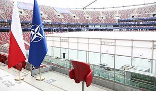 Przygotowania na stadionie PGE Narodowy w Warszawie