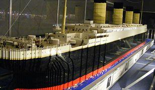 Z 500 tys. klocków LEGO zbudowali replikę Titanica!