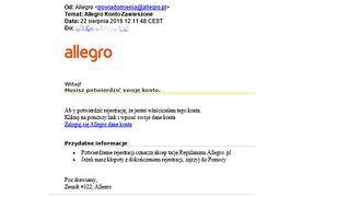 Kolejny atak hakerski na użytkowników Allegro