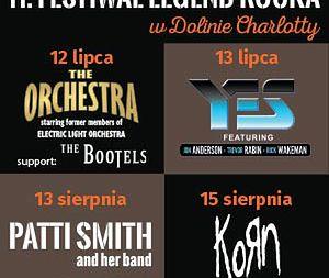 Legendy rocka w Dolinie Charlotty