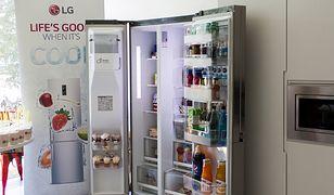 Przetestowaliśmy lodówkę Side by Side od LG - jest całkiem sprytna
