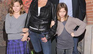 Hanna Lis z rodziną w 2009 roku
