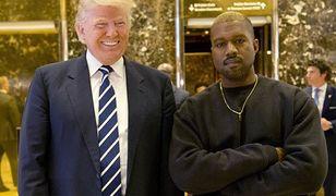 Kanye West przyjaźni się z Donaldem Trumpem?