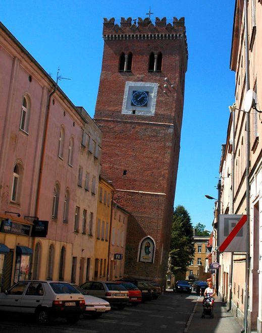 Krzywe wieże - Ząbkowice Śląskie, Dolny Śląsk