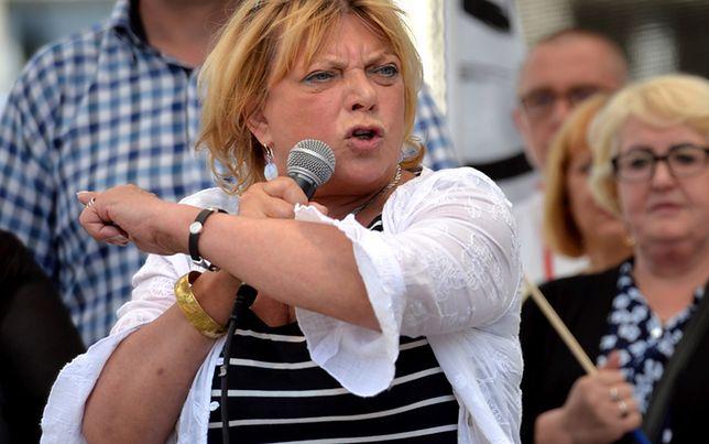 Dorota Stalińska: jej wystąpienie wywołało burzę. Zawsze była harda i zaangażowana