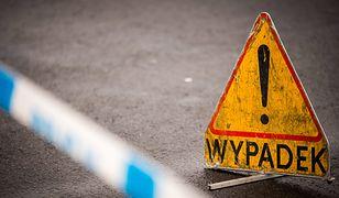 Wypadek na autostradzie w Belgii
