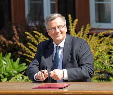 Bronisław Komorowski dwukrotnie był prezydentem Polski