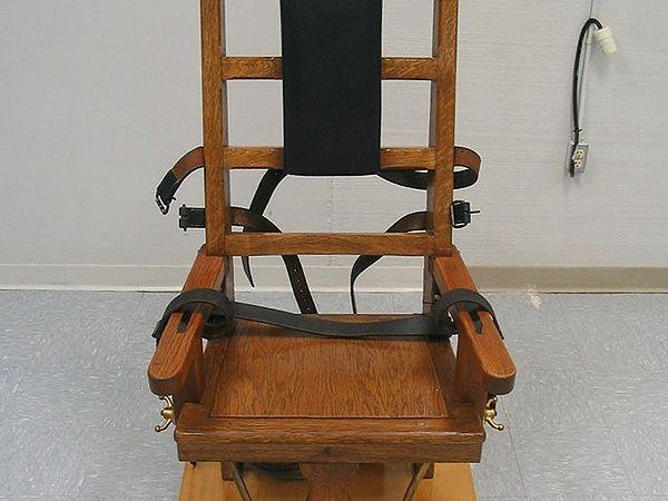 Krzesło elektryczne stosowane w stanie Virginia