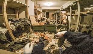 W pełni wyposażony schron przeciwlotniczy odnaleziony przez przypadek w podziemiach fabryki