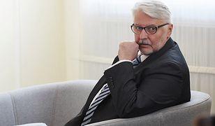 Witold Waszczykowski: nie jesteśmy zadowoleni z wyjaśnień Rosji ws. wypowiedzi Putina