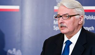 Minister spraw zagranicznych Witold Waszczykowski.