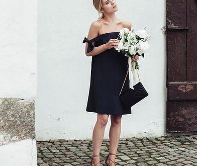 Kasia Tusk na weselu przyjaciółki. Wybrała odważną sukienkę
