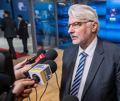 Witold Waszczykowski: będziemy robić wszystko, by nie doszło do głosowania ws. Donalda Tuska