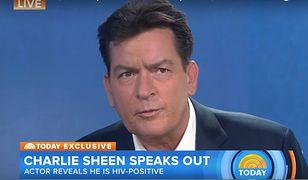 Charlie Sheen zdradził, że wie którzy hollywoodzcy aktorzy są nosicielami wirusa HIV