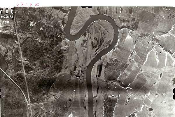 Niemieckie zdjęcie lotnicze opublikowane przez Amerykanów