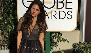 Weronika Rosati pochwaliła się zdjęciami ze Złotych Globów!