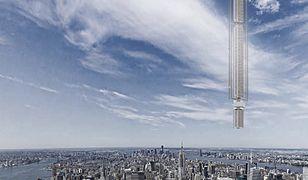 Wieżowiec zawieszony na asteroidzie – tak będzie wyglądać przyszłość?