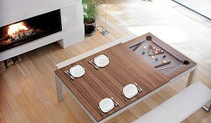 Zachwycający stół - obowiązkowe wyposażenie nowoczesnego salonu