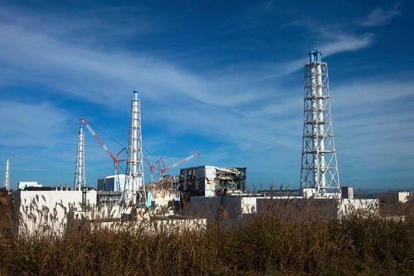 Uszkodzona elektrownia atomowa Fukushima I