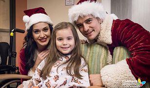 Katy Perry i Orlando Bloom odwiedzili szpital dziecięcy