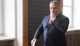 Premier Węgier Wiktor Orban stał się celem skandalicznego ataku