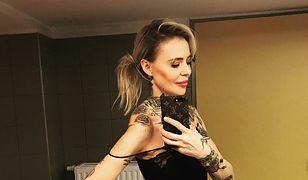 Maja Sablewska chwali się tatuażami. Znowu schudła?