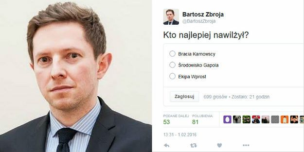 Rzecznik ministra sportu po wpisie na Twitterze rezygnuje z funkcji